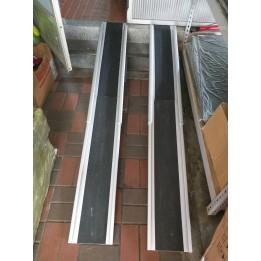 伸縮軌道式斜坡板 八成新 180CM 已售出