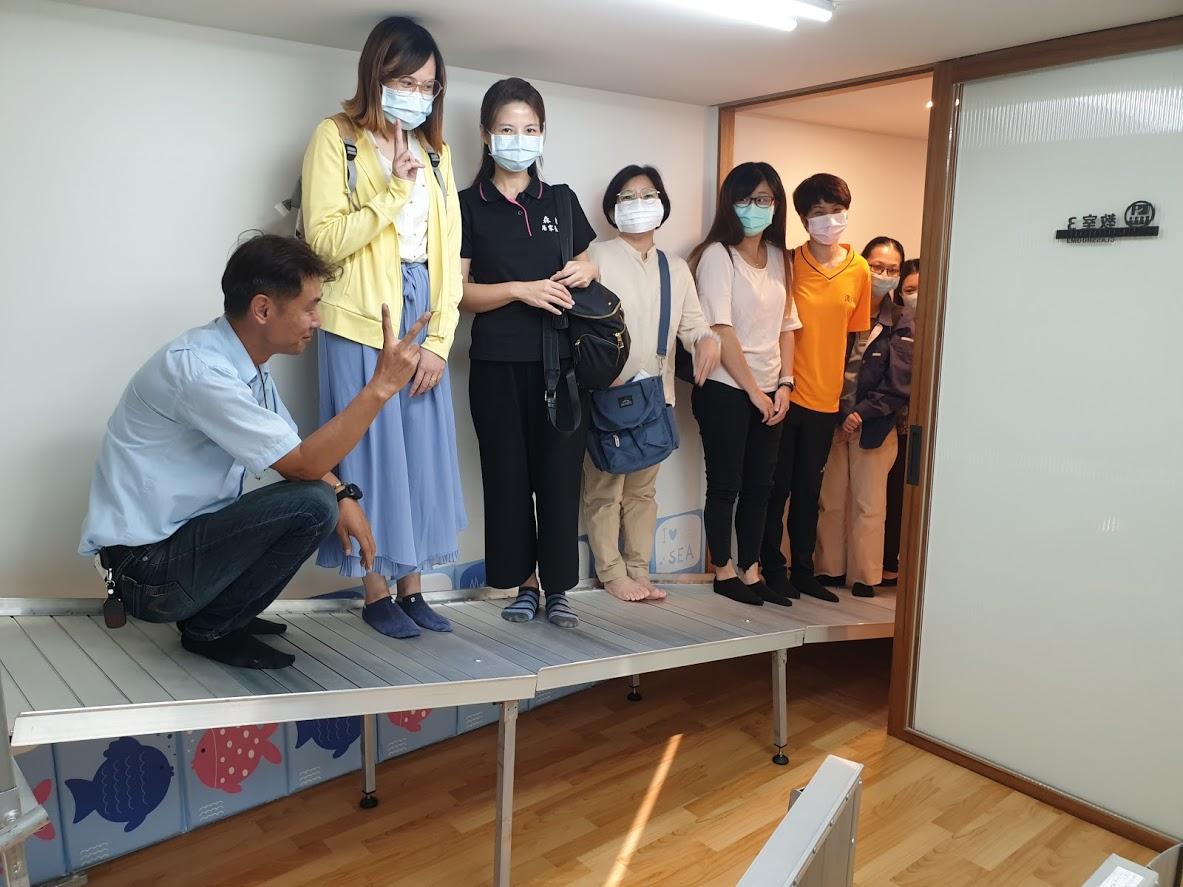 台中市109社團法人台灣健康整合服務協會AB單位聯繫會議