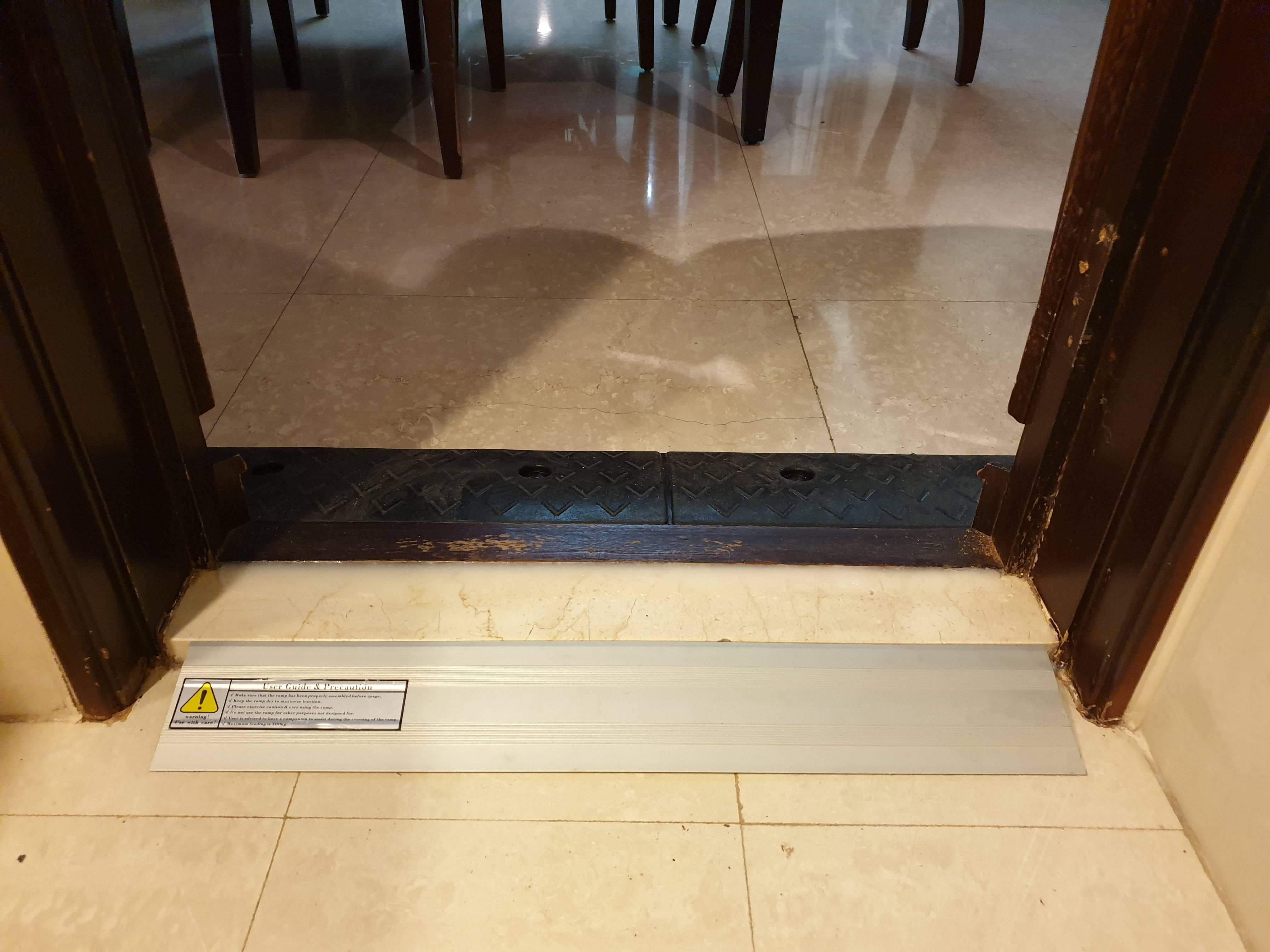 門檻斜坡板組合式案例