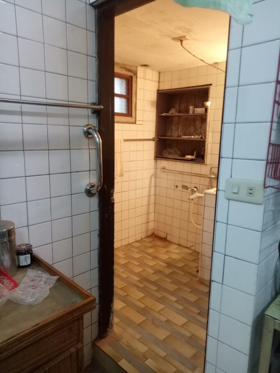 無障礙浴室改善 不鏽鋼一字型安全扶手