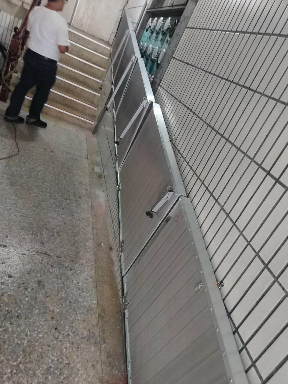 壁掛式斜坡板