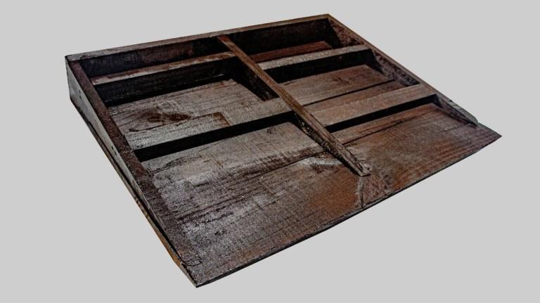 木製斜坡板底部結構扎實耐用