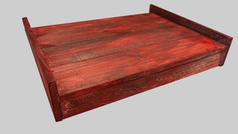 木製斜坡板款式一 有護緣